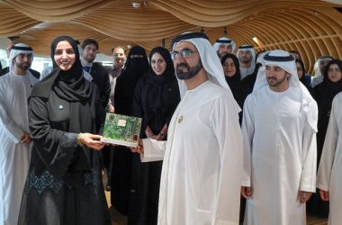 HH Sheikh Mohammed launches the Dubai IoT strategy with Dr Aisha Bin Bishr