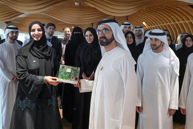 HH Sheikh Mohammed launches the Dubai IoT strategy with Dr Aisha Bin Bishr, Digital Wealth