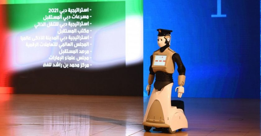 The 5th Arab Robotics Conference is underway in Dubai