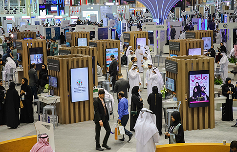 The DeG's GITEX stand