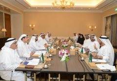 The HBMSU board of governors convene for their first meeting of the academic year
