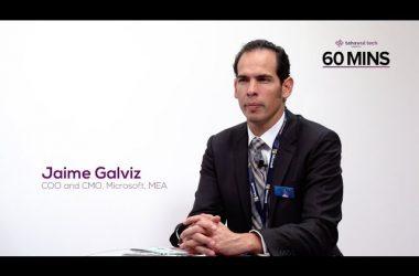 Microsoft Jaime Galviz GITEX 2017
