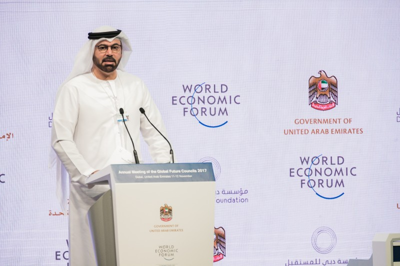 Minister of Cabinet Affairs, Mohammad Abdullah Al Gergawi,