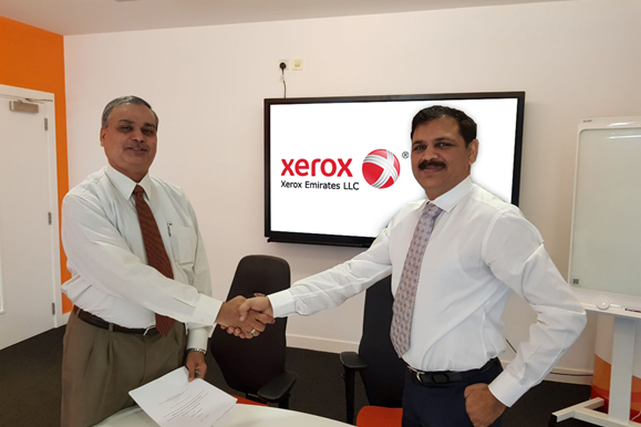 ISS has recently signed a partnership agreement with Xerox Emirates to implement SAP Professional Services.