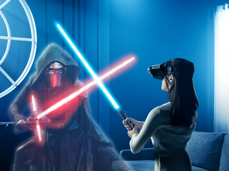 Lenovo and Disney are bringing the Star Wars: Jedi Challenges augmented reality game to the UAE