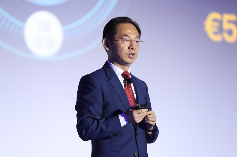 Ryan Ding, executive director and president of the Carrier Business Group, Huawei