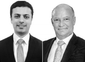Khurram Majeed, TechVista Systems and Philippe de Mazieres, Gulf Software Distribution