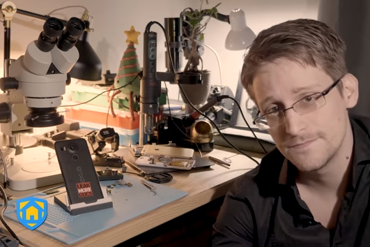 Edward Snowden introduces new security app Haven