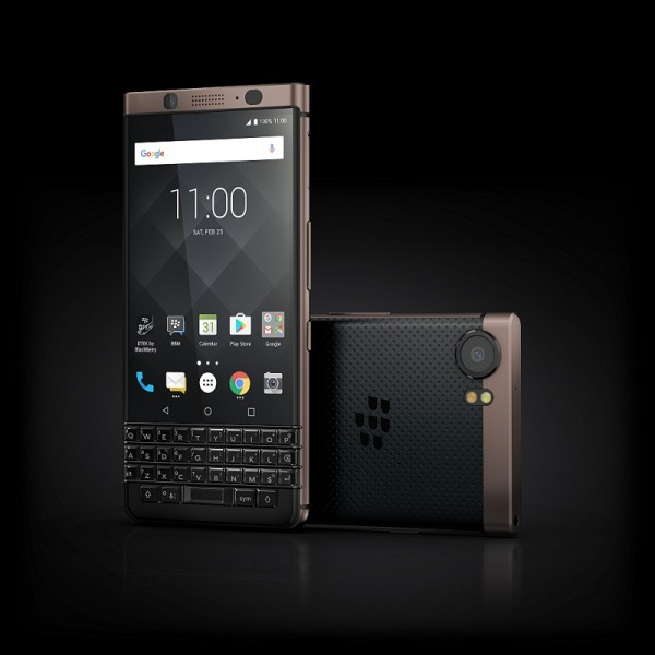 CES 2018: BlackBerry announces bronze, dual SIM version of KEYone