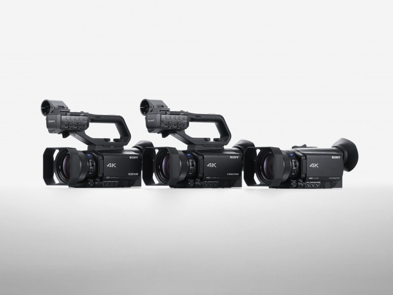 Sony has announced the launch of two new 4K HDR camcorders featuring its Fast Hybrid AF system