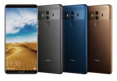 The Huawei Mate 10 PRO group