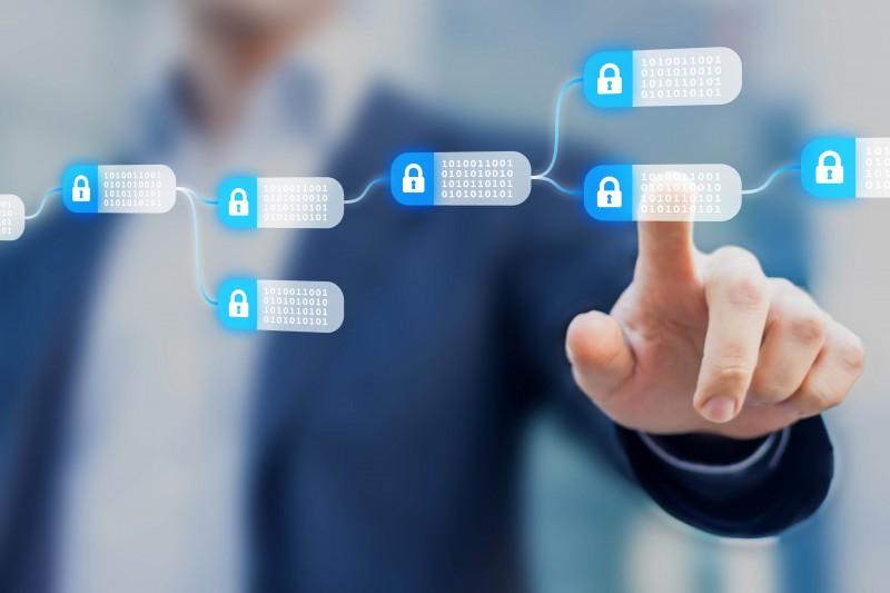 blockchain in security