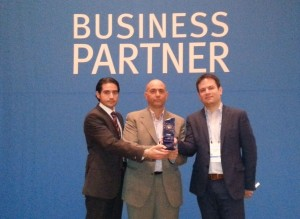 MATCO Best EMEA PARTNER 2012 Award for  MATCO at GPS LAS vegas team