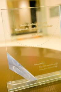 Outstanding Partner for the Year 2013 Trophy