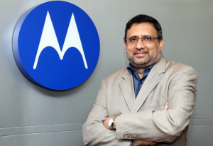 Tariq Hasan, Regional Sales Manager of Wireless Network Services, Motorola