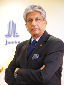 Vishesh L. Bhatia, CEO, Jumbo Group