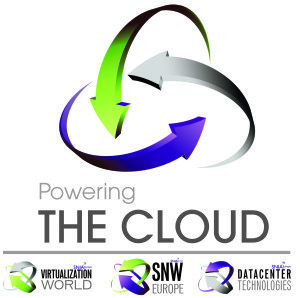 Powering The Cloud Logo with 3 Revised