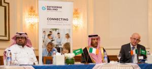 (L-R) Dr Amin Al Shanqiti, Chairman Irish Saudi Arabian Business Council; Eng. Meshary Al Soairy, Chairman - MAS Technologies; Dr Tom Kelly, Enterprise Ireland.