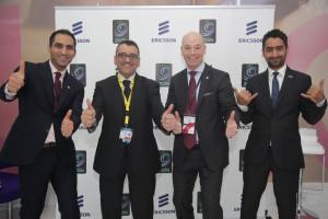 Zain-Ericsson Bahrain team