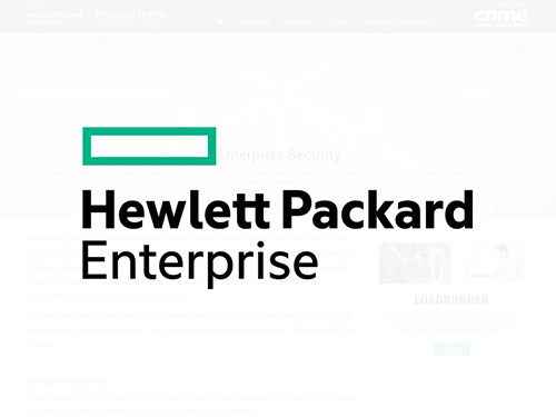 Hewlett Packard Enterprise Resource Centre
