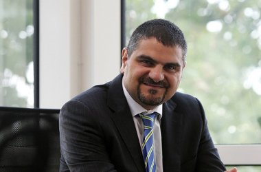 Farid Al-Sabbagh, Fujitsu's vice president for the Middle East region