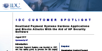 Heartland Payment Systems Hardens Applications and Blocks Attacks With the Aid of HP Security Software