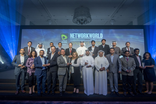 The winners of the 2016 Network World ME awards