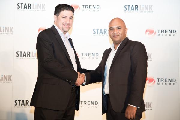 Nidal Othman, Starlink and Ihab Moawad, Trend Micro
