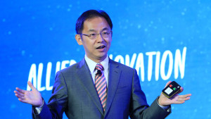 Ryan Ding, Executive Director and President of Products and Solutions, Huawei