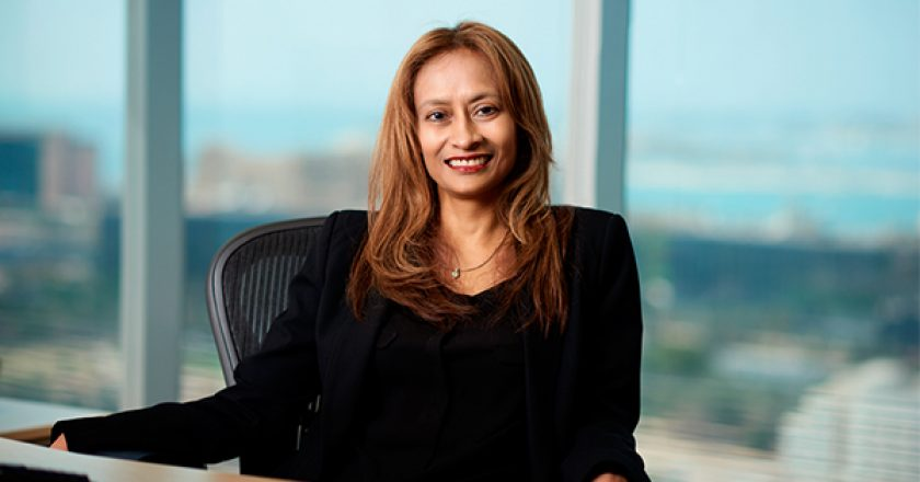 Rafiah Ibrahim, President of Ericsson Region Middle East and Africa
