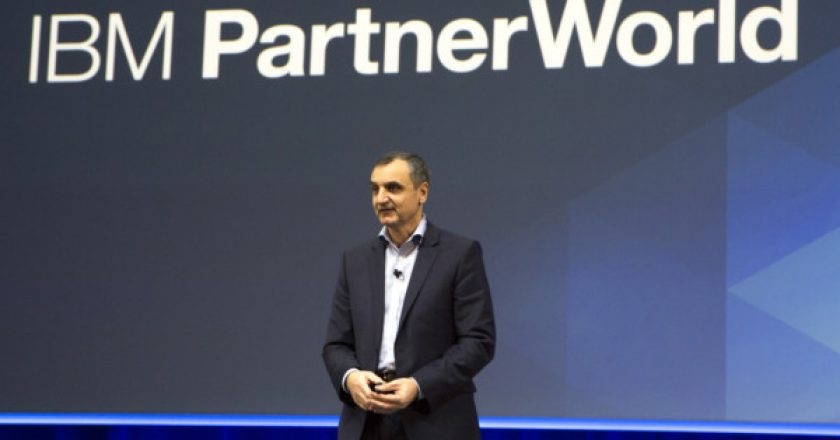 Marc Dupaquier at IBM Partner World 2017