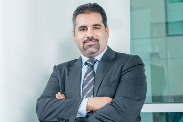 Elie Dib, Riverbed's regional vice president for the Middle East, North Africa and Turkey