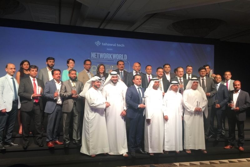 Winners of the Network World Middle East Awards 2017