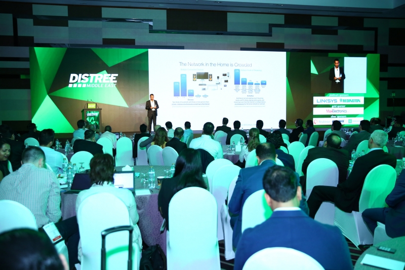 During DISTREE Middle East 2016