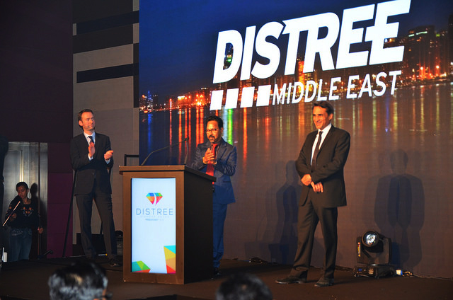 During DISTREE Middle East MERA Awards 2016