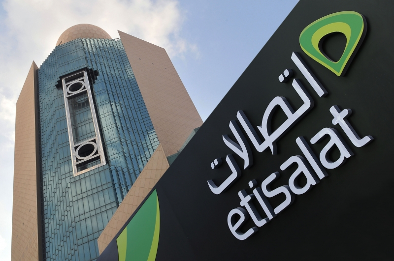 etisalat, 5g, Abu Dhabi's new airport