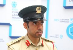 Khalid Nasser Alrazooqi, Dubai Police's director general of smart services