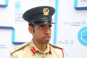 Khalid Nasser Alrazooqi, Dubai Police's director general of smart services