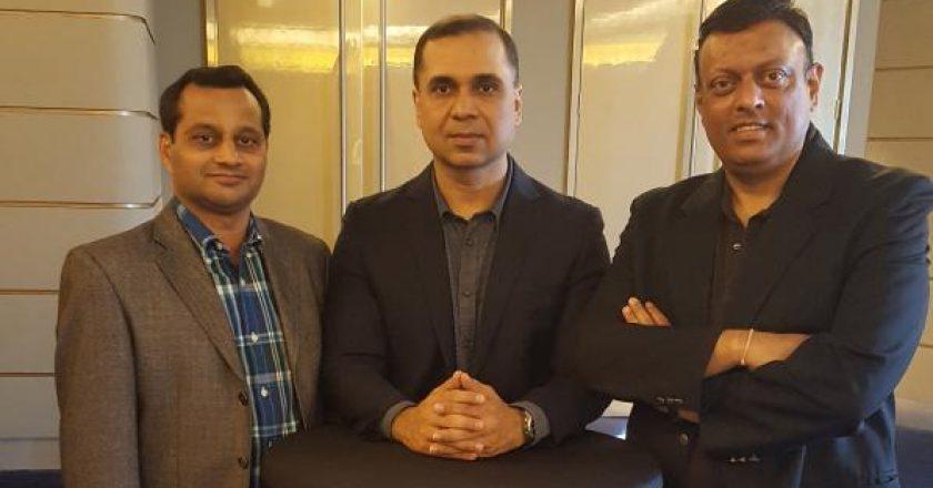 DCG Committee members: Ashok Kumar, Dharmendra Sawlani and Suchit Kumar (L-R)