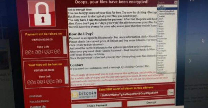 Linguistic analysis shows WannaCry's possible links to China