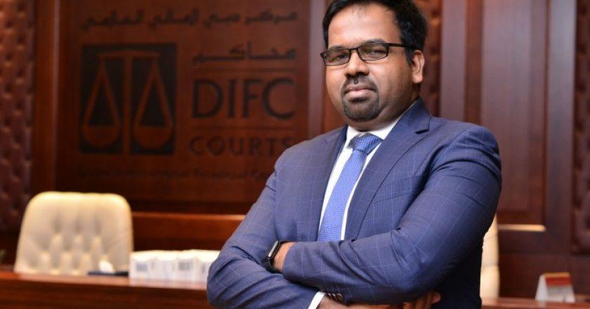 DIFC Courts senior IT manager Arul Jose Vigin