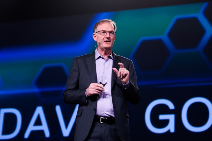 Dell EMC president David Goulden