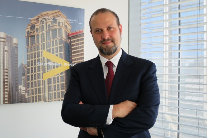 Omar Boulos, regional managing director of Accenture for the Middle East and North Africa