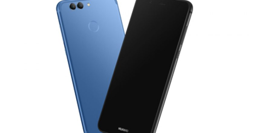 HUAWEI NOVA 2 PLUS - BLUE FRONT BACK