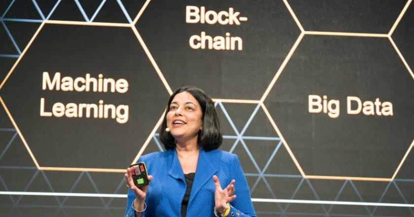 Mala Anand, executive vice president and president of SAP Leonardo, Data & Insights