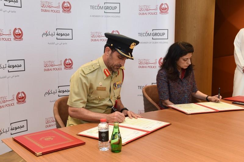 Dubai Police Tecom Group smart police stations