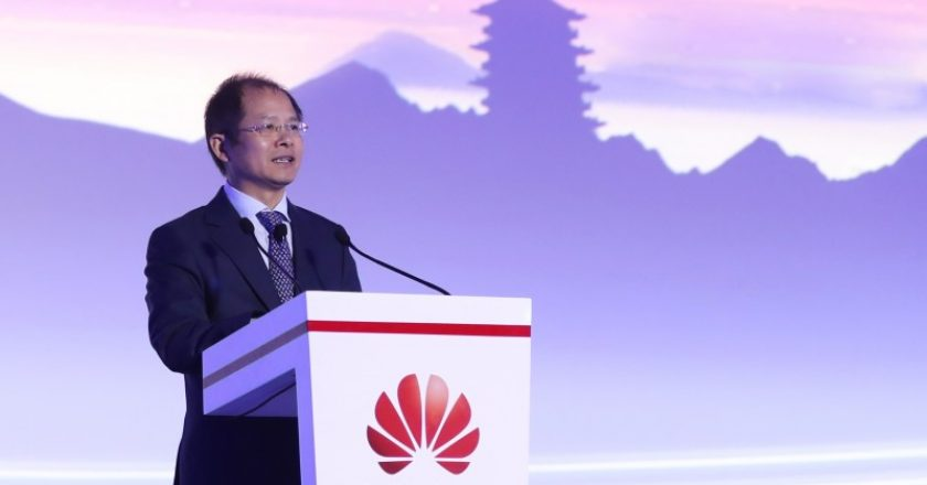 Huawei's rotating CEO Eric Xu (source: Huawei)