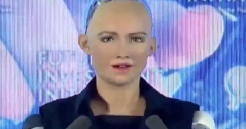 Robot Sophia was 'granted' Saudi citizenship in Riyadh