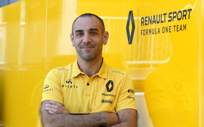 Renault Sport F1's managing director, Cyril Abiteboul