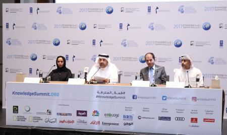 Details of the Knowledge Summit were revealed at a press conference at the Westin Hotel in Dubai; MBRF Knowledge Week